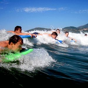 Wassersport Klassenfahrt