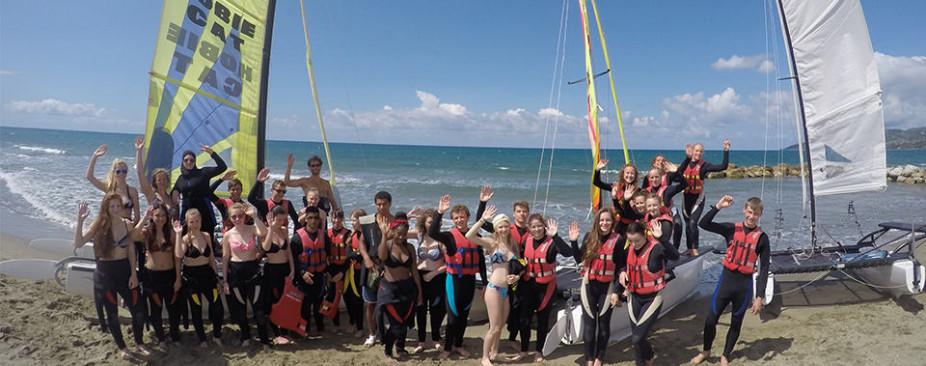 Klassenfahrt nach Italien | Projekttage und Wassersport