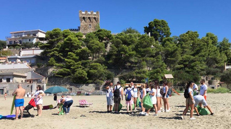 Cleanup in Casal Velino